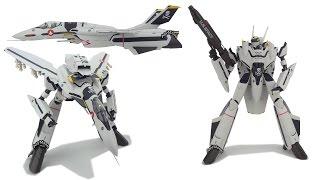 Arcadia VF-0S/VF-0A Fighter  Gerwalk Battroid Transformation