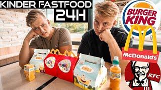 24 STUNDEN KINDER MENÜS ESSEN *fast food*