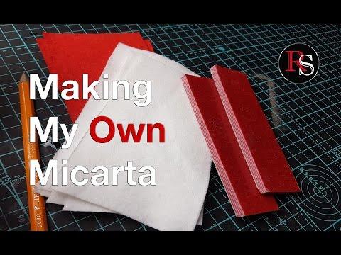 Knife Making - How To Make Micarta / Homemade Micarta
