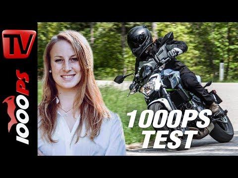 1000PS Test - Kawasaki Z650 2017 - Leicht, wendig und aufsehenerregend - sound - review
