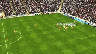 R. Madrid vs Olympiakos - Dom�nguez Goal 86 minutes