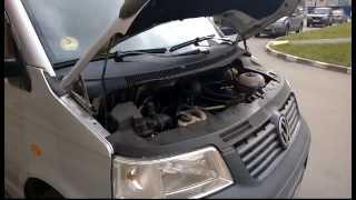 VW T5 AXD 2.5 плохо заводится(, 2014-10-19T17:24:19.000Z)