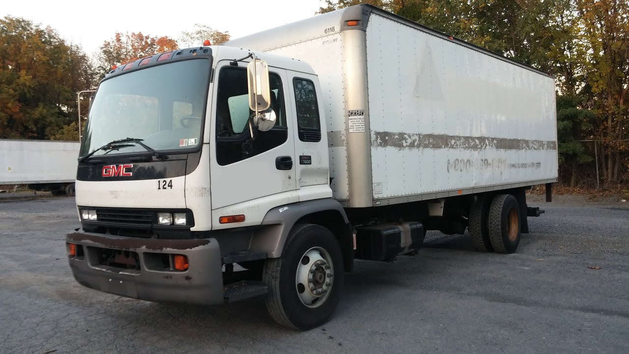 gmc t7500 truck 124 youtube rh youtube com
