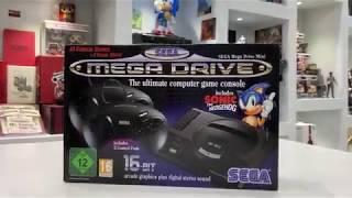 unboxing sega mega drive mini انبوكسنق لجهاز سيجا ميجا درايف ميني