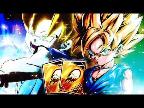 DEVASTATING BLAST CARD POWER! NEW 498% GT SSJ Goku | Dragon Ball DB Legends