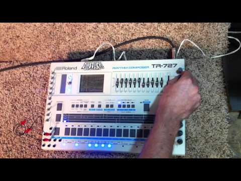Roland TR 727/ TR 707. Modified by Diabolical Devices