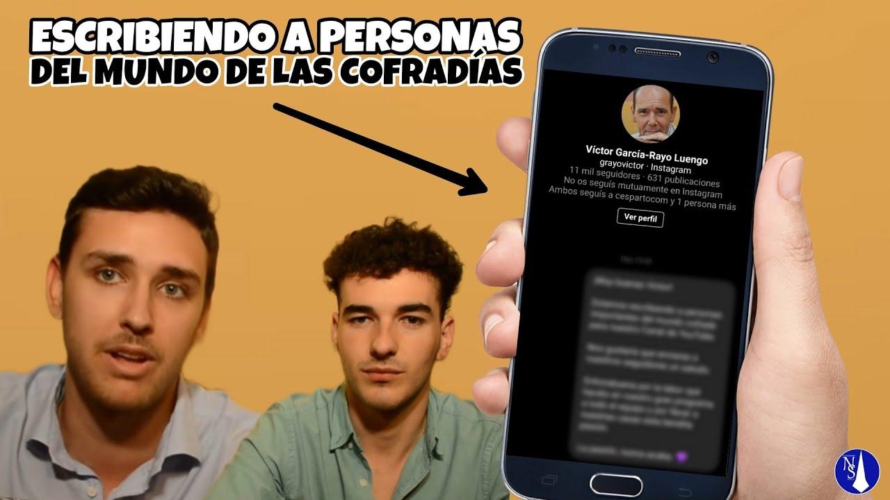 ESCRIBIENDO a PERSONAS del MUNDO COFRADE | ElNazarenoSevilla