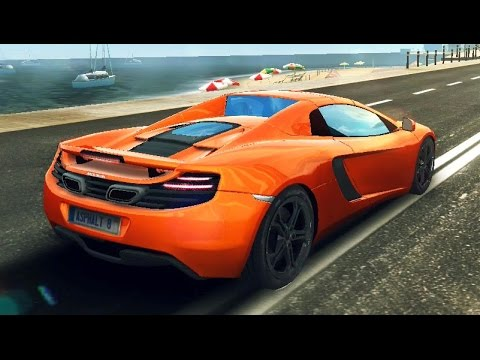 asphalt 8 mclaren p1 gtr 1716 barcelona doovi. Black Bedroom Furniture Sets. Home Design Ideas