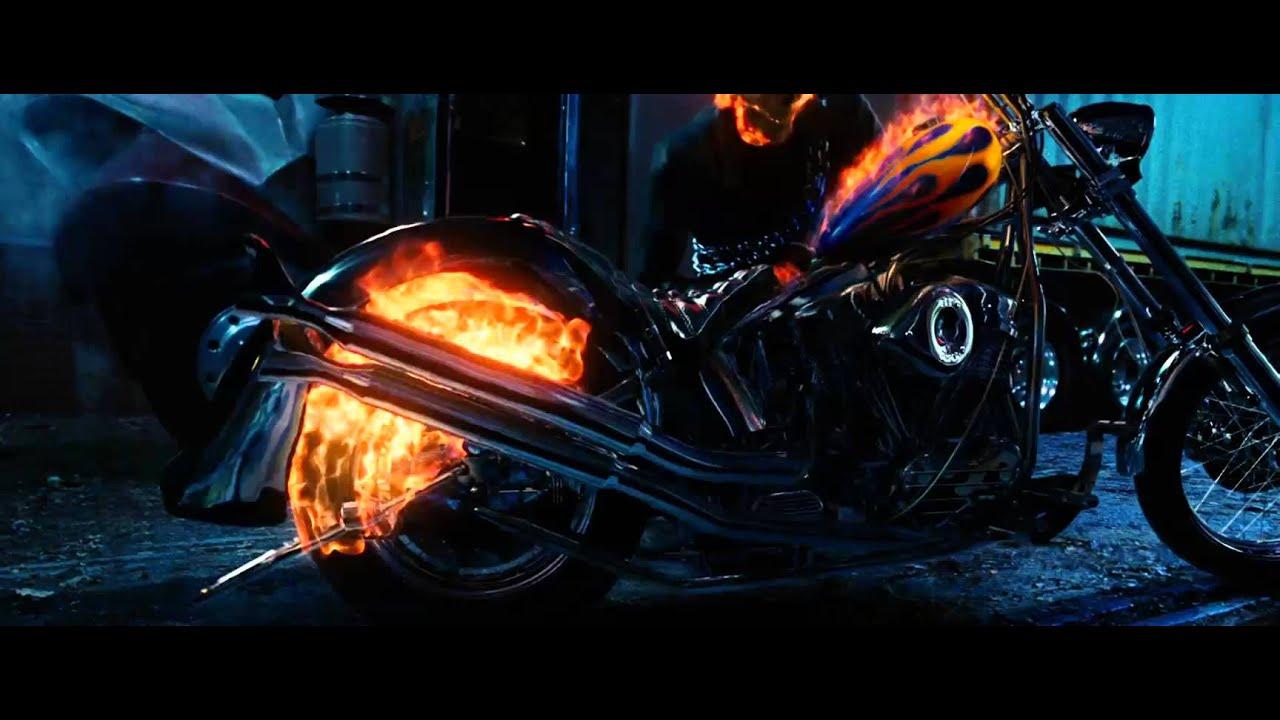Ghost Rider 2007 Bike Transformation Youtube