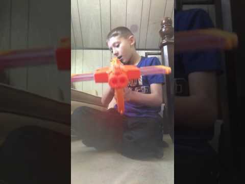On boxing the double dealer Nerf gun