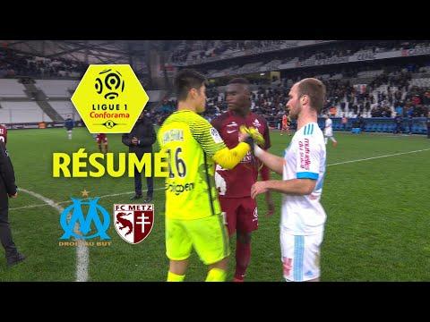 Olympique de Marseille - FC Metz (6-3)  - Résumé - (OM - FCM) / 2017-18