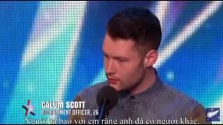 Got talent Calum Scott. OMG his voices
