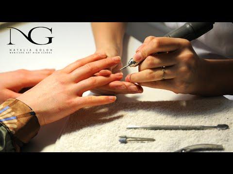 Видео Обучение наращиванию ногтей французский