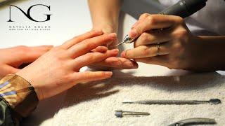 Аппаратный маникюр / Hardware manicure(Все о ногтевом мире - обучающие видео по наращиванию акрилом и гелем, правила правильного выполнения маникю..., 2015-04-16T16:19:07.000Z)