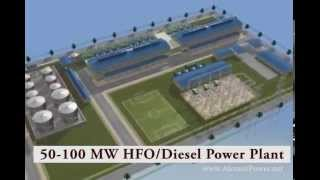 ALEMCO HFO Power Plant Overview