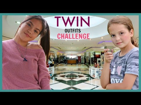 "3 ITEMS TWIN OUTFIT CHALLENGE ""SISTER FOREVER"""