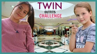 """3 ITEMS TWIN OUTFIT CHALLENGE """"SISTER FOREVER"""""""