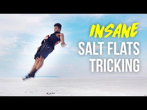 INSANE FLIPS ON THE SALT FLATS!