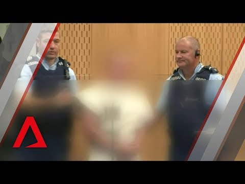 Christchurch shootings suspect Brenton Tarrant appears in court