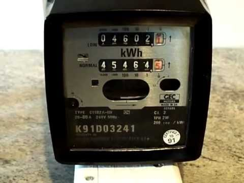 hqdefault electricity meter gec c11b2a r h dual tariff kwh meter youtube wiring diagram for economy 10 meter at fashall.co