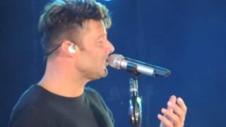 Te extraño, te olvido, te amo. Ricky Martin. Calafate 2016
