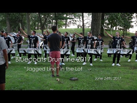 "Bluecoats Drumline 2017 - ""Jagged Line"" Show Music (Massillon, Ohio June 24th, 2017)"