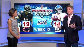 Waddle's World: Chicago Bears pull off narrow 19-14 victory over New York Giants
