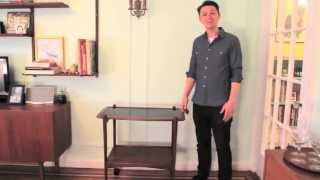 Krrb Presents A How-to On Styling A Mid-century Bar Cart With Jeremy Hollingworth