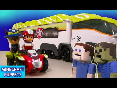 Paw Patrol Jungle Rescue Patroller Truck & ATV Vehicle Toy w/ Ryder Unboxing Review Nickelodeon
