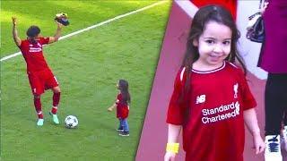 نجوم كرة القدم مع أطفالهم ◄محمد صلاح ● كريستيانو ● ميسي ● نيمار ● بيكهام ....!!