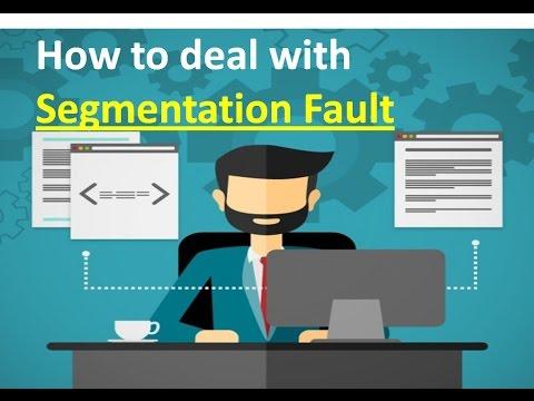 How to Solve Segmentation Fault Problem