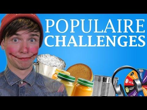 10 POPULAIRE CHALLENGES!