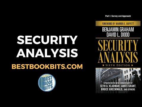 Benjamin Graham & David Dodd: Security Analysis Book Summary