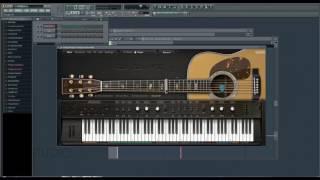Make Ample Sound VSTi sound like a 12 string guitar
