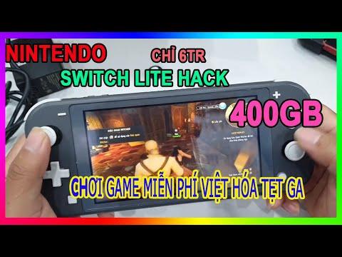 Nintendo Switch Lite 400Gb Hack   Chơi game Việt hóa mệt nghỉ   Hướng dẫn hack thú vị 1
