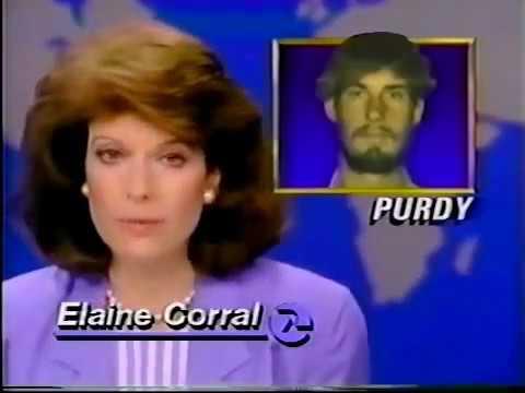1989 News on Cleveland Elementary School Mass Shooting - Stockton  California 80s