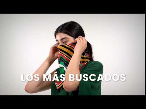 Nuevos diseños: Cubrebocas + pashminas