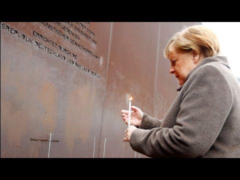 MAUERFALL-GEDENKEN IN BERLIN: Merkel mahnt zum Einsatz für Freiheit