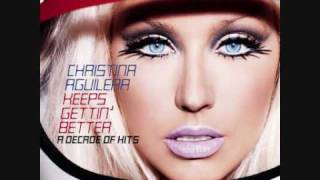 11. Candyman - Christina Aguilera (Keeps Gettin