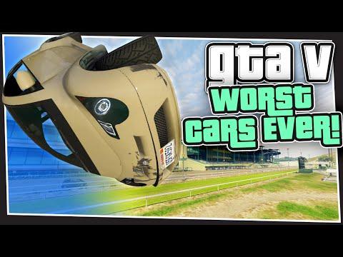 GTA 5 Online - Worst Cars Ever (GTA Custom Games)