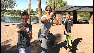 12 Year Old Defeats Jake Mace - Martial Arts & Kung Fu Fighting!