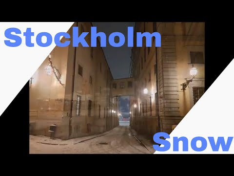 Photo Collection Of Stockholm In The Snow