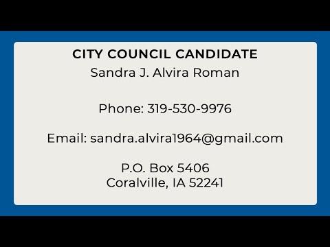 City Council Candidate: Sandra Alvira