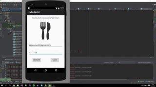 Restaurant Management App - Android