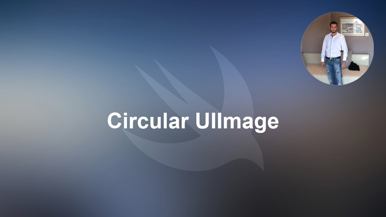 Swift tutorial: Circular UIImage