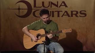 Wabi Sabi Dreadnought by Luna Guitars