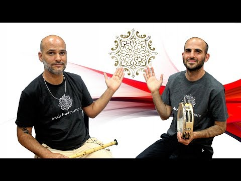 Arabic Ney and Riq Drum in a Beautiful Duet