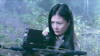 Chinese beauty captains attack the enemy's arsenal in the night!Guerrilla soldier 13
