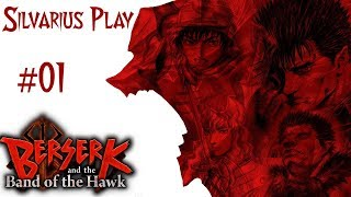 Guts Betriit das Schlachtfeld 🐺Silvarius Play Anime🐺 Berserk and The Band of The Hawk  #01