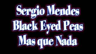 Sergio Mendes and Black Eyed Peas - Mas que Nada - cover by Tek